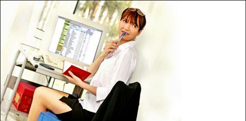 秘書代理着信~幹部内線への着信は秘書内線が代わりに応答~