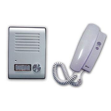 ビジネスフォン・PBXに接続されたドアホン(インターホン)からの呼出に多機能電話機で応答する