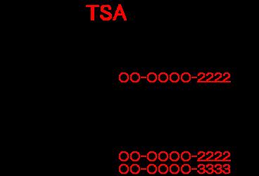 iナンバーのサービスを付加すると、1本の回線に対して、最大3つの電話番号を持たせることができます。(ただし、通話路は2本まで)