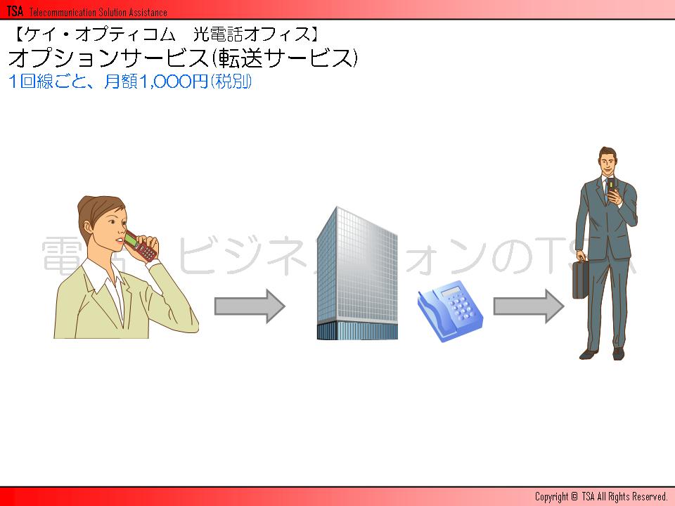 オプションサービス(転送サービス)