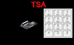 全角文字での入力が終わると、半角文字(半角英数字、半角カナ文字等)での内線名称を登録します。